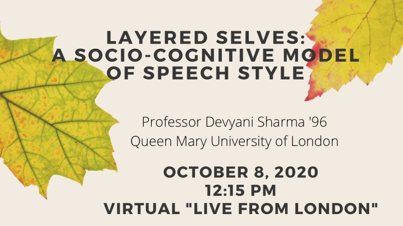 Live form London LING Annual Homecoming Lecture